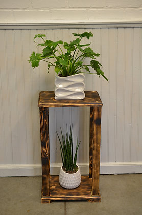 Rectangle Plant Stand - Natural, Stained, Colour or Shou Sugi Ban