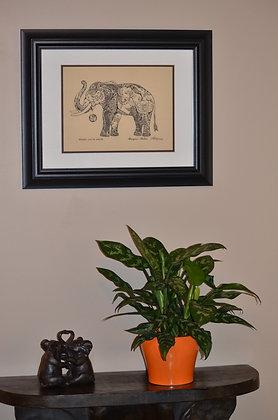 Chinese Evergreen in  Luna Pot