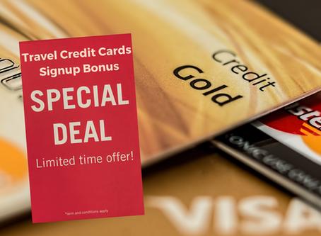 Travel Credit Cards Signup Bonus