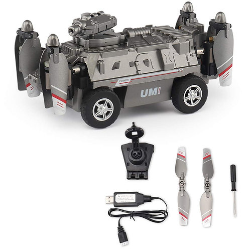 2 IN 1 RC Flying Tank