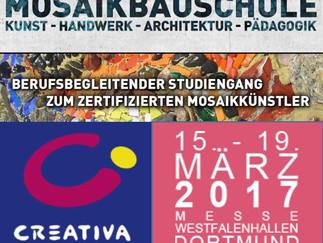 Besuchen Sie uns vom 15.-19. März auf der CREATIVA