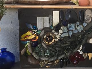 'Kunst ist Sprache' - Zauber des Natursteinmosaiks