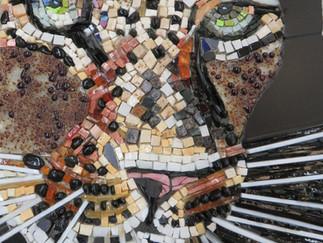 Vom Entwurf zum modernen Mosaik - unser 8. Ausbildungsmodul