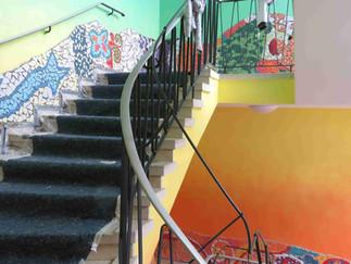 Mosaikkunst im Leben – im Praxismodul sammeln unsere Studenten praktische Erfahrungen