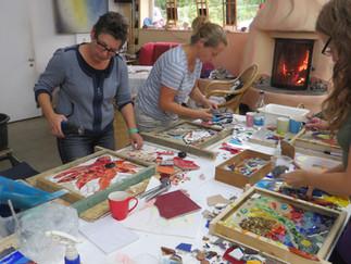 Ausbildungsmodul 2: Erstellung eines Mosaiks im Umkehrverfahren