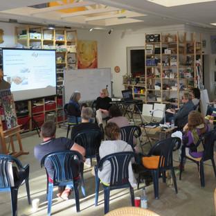 Der Künstler in unserer Gesellschaft – unser 6. Ausbildungsmodul 'Mosaikkunst als berufliche Chance'