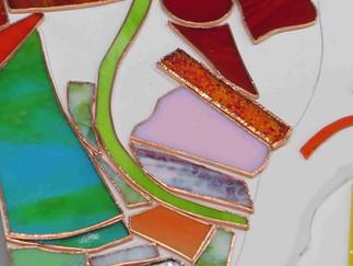 Glaskunst in Kupferfolientechnik
