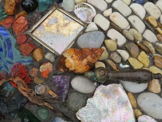 Unser 7. Ausbildungsmodul: 'Künstlerische Gesten in Mosaik'