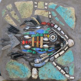 Künstlerische Gesten in Mosaik - Ein Suchen nach Wahrheiten und Schönheit