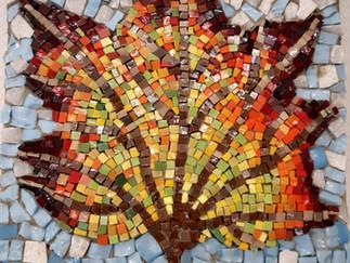 Klassisches Mosaik – Arbeiten mit Smalten – unser 3. Ausbildungsmodul