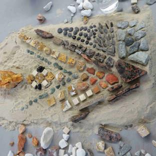 Unser 6. Studienjahrgang beginnt mit einem 'Natursteinmosaik im direkten Setzverfahren'