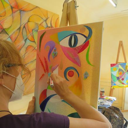 Kunstwerkstatt 21 -  Die Welt der Farben