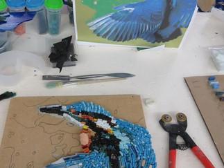 'Von der Zeichnung zum Mosaik'