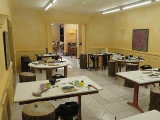 Die Mosaikbauschule präsentiert sich in neuen Räumlichkeiten