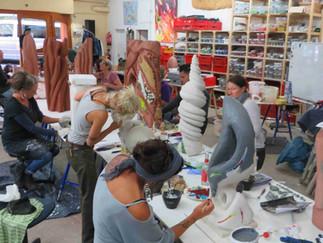 'Plastisches Mosaik - Mosaikskulptur' ist unser abschließendes 11. Ausbildungsmodul