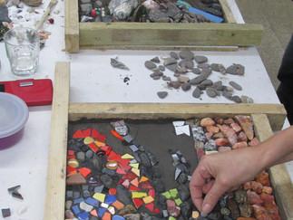 Mosaikworkshop 'Zauber des Natursteinmosaiks'