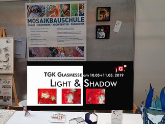 TGK Glasmesse - Präsentation der Mosaikbauschule durch unsere Absolventen