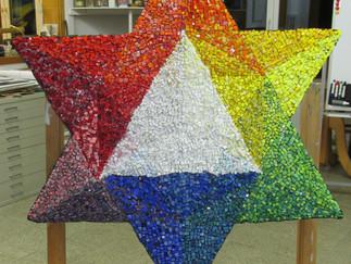 Klassisches Mosaik im Umkehrverfahren ist Inhalt unserer 3. Ausbildungseinheit