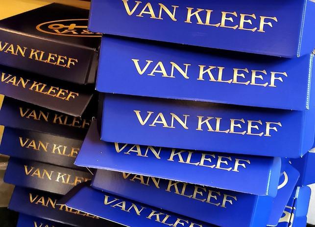 Van Kleef proeverij doos