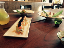 SPECIAL ROLLS WITH MANGO SAKE