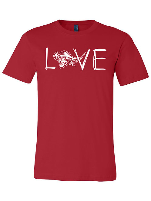 Love Patriot - Youth Cotton Soft SS