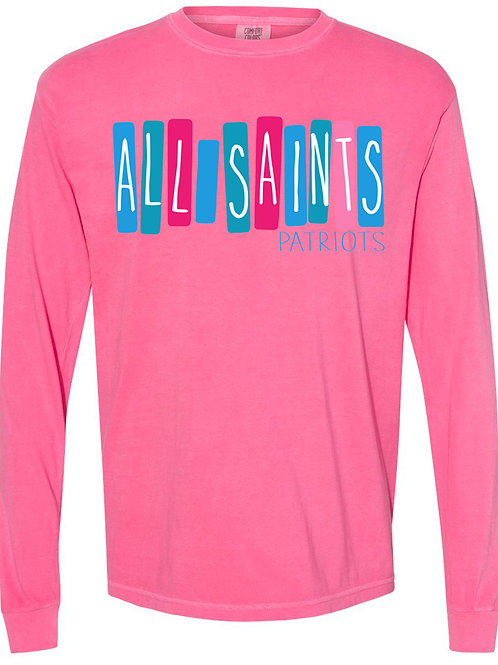 All Saints Pastel - Adult Heavy Cotton LS