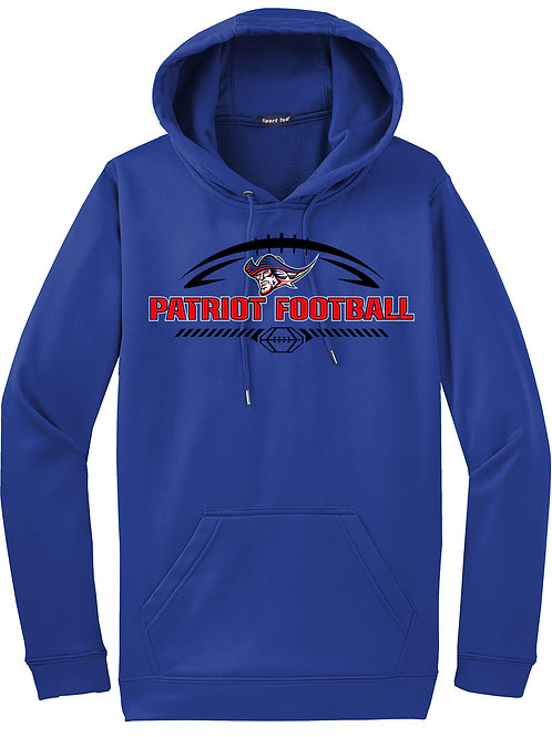 Football Patriot Mod - Youth Performance Hoodie