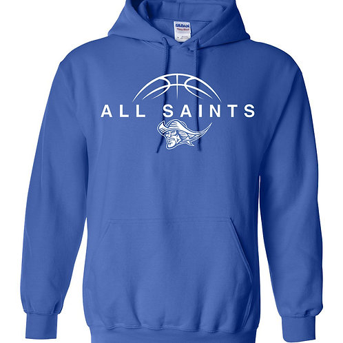 Basketball Patriot White Basketball - Youth Blend Hoodie