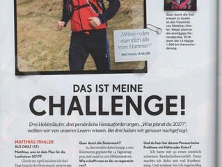 Suchen Sie sich regelmässig eine Herausforderung!  2. Version