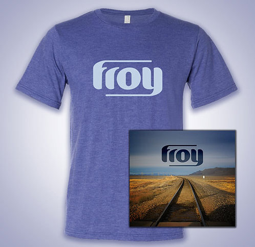 'Combo Pack' Froy CD and T-Shirt