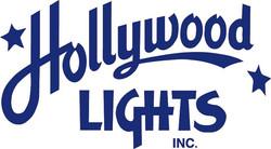 Hollywood Lights logo Blue