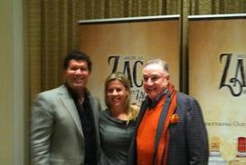 With Edgar Martinez & Gene Juarez promoting their Mezcal brand El Zacatecano