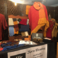 Norn Weaving craft show setup
