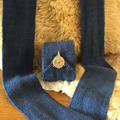 Custom viking legwraps in merino wool (winter weight!)
