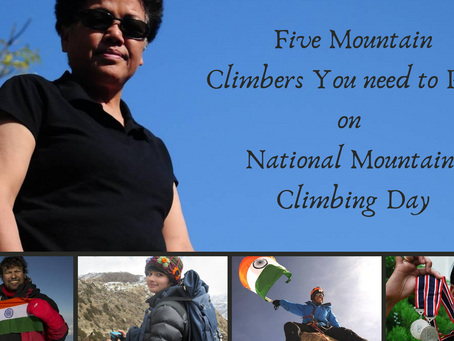 Five People you need to read on this National Mountain Climbing Day