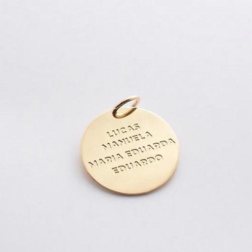 Medalha Redonda Grande