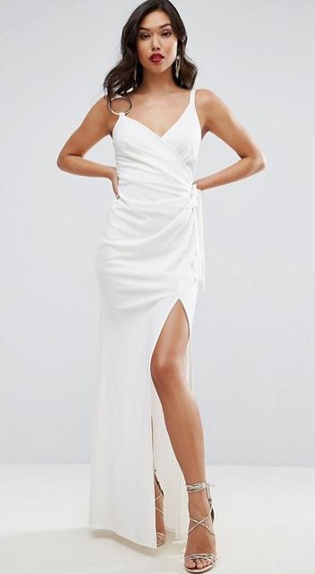 ASOS - Robe longue blanche