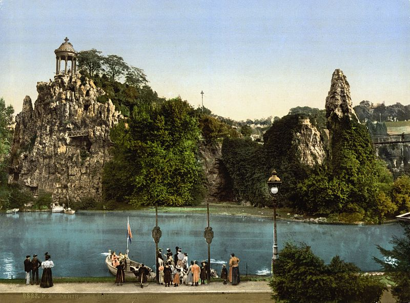 Le parc ca. 1890 and ca. 1900