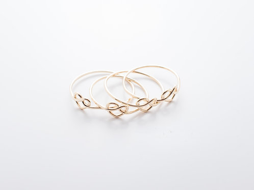 Anel Love Knot