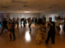 Friday night dance social at Smooth Sailing Ballroom