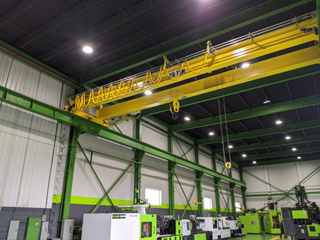 An Old Facility Gets a Crane Makeover