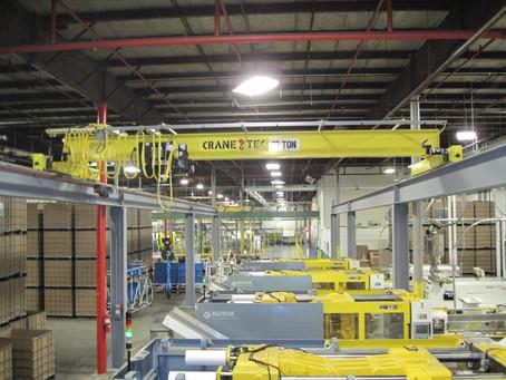 Plastic Parts Overhead Crane