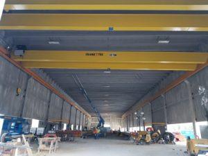 Dual 25 Ton Cranes Case Study