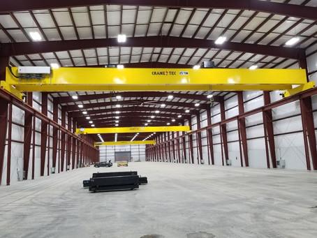 Steel Warehouse Cranes