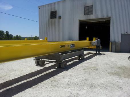 15 Ton Double Girder Cranes Ship to Nebraska