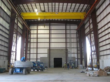 Midwest Mine Maintenance Facility 25 Ton Crane