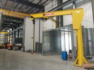 Case Study: Unique Free-Standing Crane System