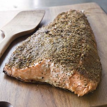 Salmon with Lemon and Fennel Seed