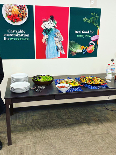 Staff Meal at Chowbotics - Alison's Paella