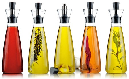 Assorted herb vinegars